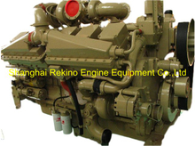 Chongqing CCEC Cummins KT38-P830 Stationary P type pump diesel engine motor 830HP 1500RPM