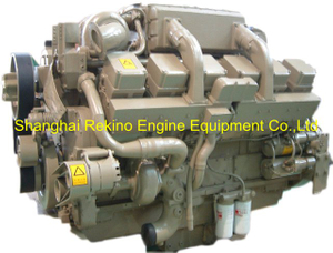 Chongqing CCEC Cummins KTA38-P1400 Stationary P type pump diesel engine motor 1400HP 1800RPM