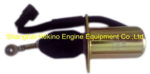 Fuel shut off solenoid 3977620 for Cummins 6CT engine parts